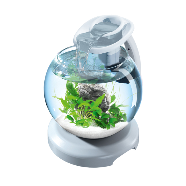 Аквариум Tetra Cascade Globe Duo Waterfall, 6.8л, белый