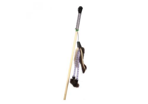 Дразнилка GoSi Мышиные хвостики и трубочки на веревке, с еврослотом