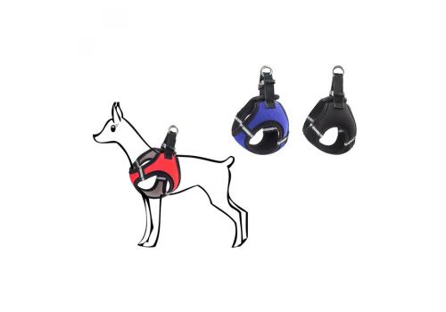 Шлейка Дарэлл мини Адам-Нео, для собак мелких пород, неопрен, 15-18*20-24 см.