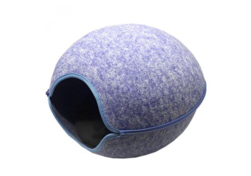 Домик для кошки Fauna International Timeo, синий