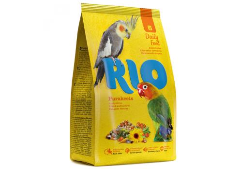 Корм RIO для средних попугаев, основной рацион, 1кг