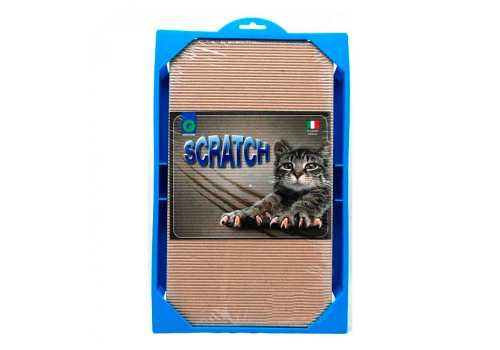 Когтеточка для кошек Georplast Scratch, 37х23х3.5см