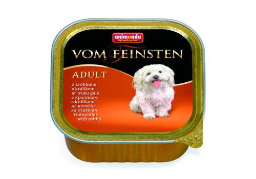 Консервы Animonda Vom Feinsten Adult для собак, с кроликом 150г
