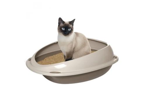 Туалет для кошек SHUTTLE с бортом, 45см