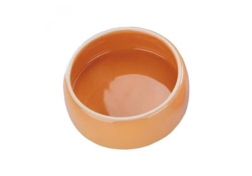 Миска Nobby керамическая, оранжевая, 0,25 л