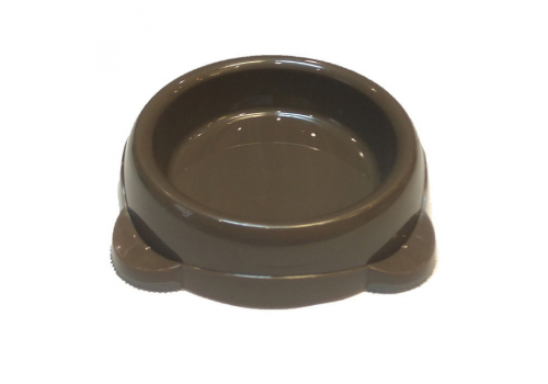 Миска для домашних животных Lilli Pet, черная, 220мл