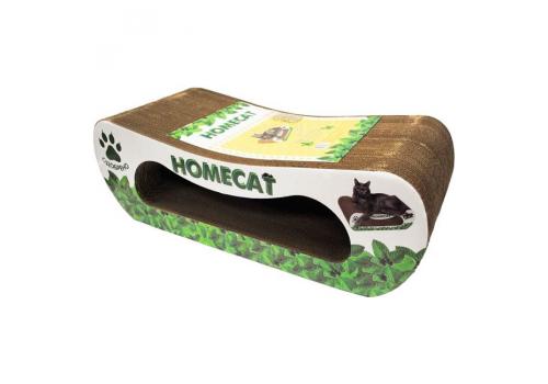 Когтеточка для кошек Homecat, с кошачьей мятой, 61x25x20см
