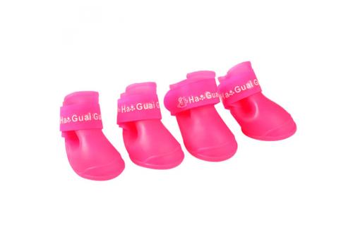 Ботинки резиновые для собак, размер S
