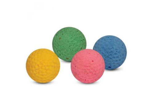 Мяч для гольфа одноцветный (туба), 1 шт.
