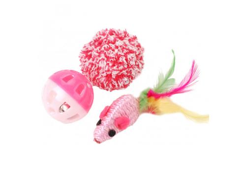 Набор игрушек для кошек Lilli Pet №2, 3шт