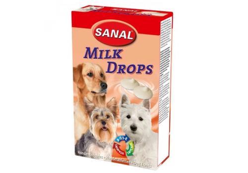 Лакомство Sanal со вкусом молока 125г