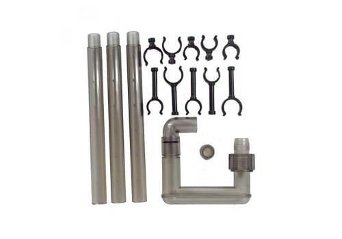 Набор трубок и зажимов для выхода воды внешних фильтров Tetra ЕХ400/600/700/800 Plus
