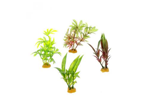 Набор пластиковых растений Prime PR-YS-70513, 4шт