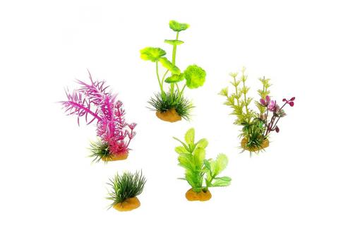 Набор пластиковых растений Prime PR-70603, 5шт