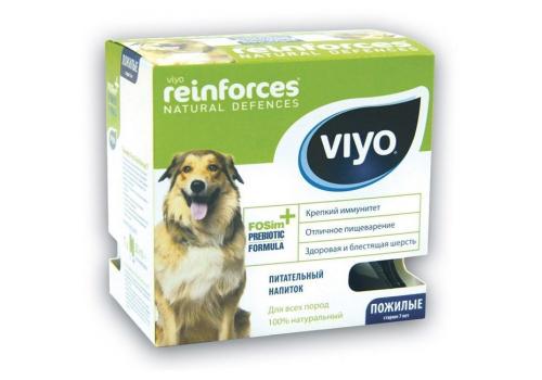 Напиток-пребиотик Viyo для пожилых собак, 30мл