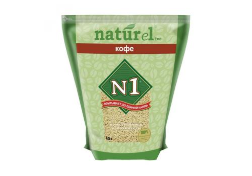 Наполнитель N1 Naturel Кофе, комкующийся 4.5л