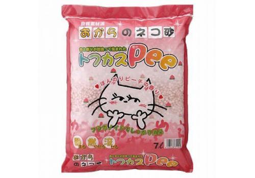 Наполнитель Japan Premium Pet Тофу с персиком 7л