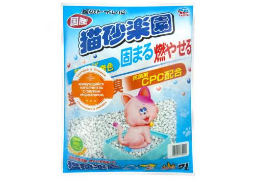 Наполнитель Japan Premium Pet с голубым индикатором 7л