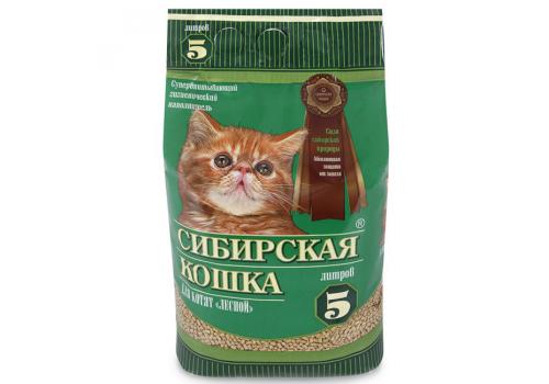 """Наполнитель Сибирская кошка для котят """"Лесной"""" 5л"""