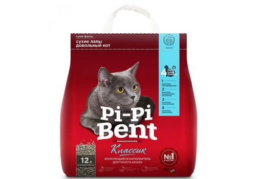 Наполнитель Pi-Pi-Bent Классик, комкующийся 5кг