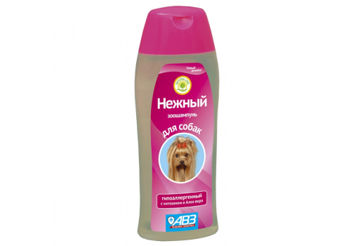 """Шампунь """"Нежный"""" для собак, гипоаллергенный, 270 мл"""
