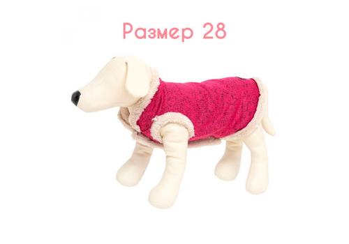 Жилет теплый OSSO Fashion Тужурка, размер 28