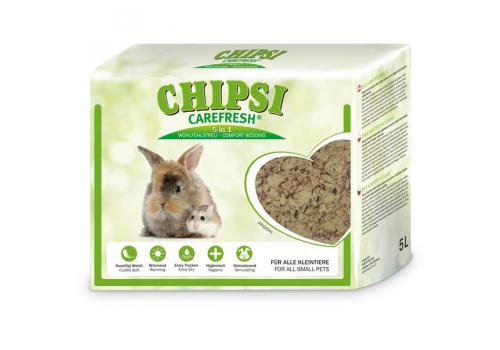 Бумажный наполнитель для мелких животных и птиц Chipsi CareFresh Original  5л