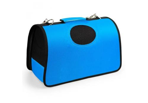Переноска Lilli Pet Roma М для  собак, 42х22х27см синяя