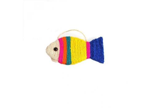 Игрушка для кошек Lilli Pet Sisat fish small 25х13х2см в ассортименте
