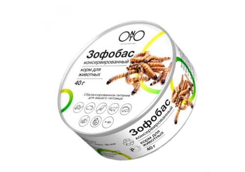 Зофобас консервированный ONTO, 40г