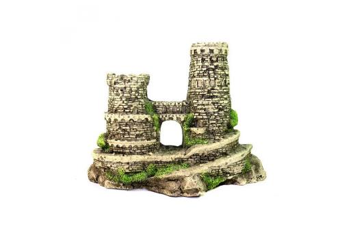 Декорация Грот Deksi Крепость №622 mini (217х70х140 мм)