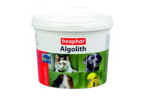 Beaphar Алголит 250гр минер.смесь на основе водоророс.д/к.с