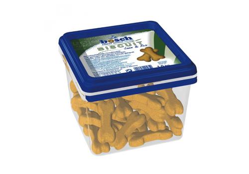 Лакомство Bosch Biscuit для собак ягненок с рисом, 1кг