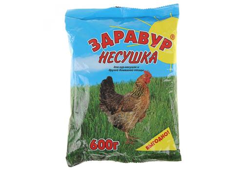 "Премикс ""Здравур Несушка"" для кур, 600 г."