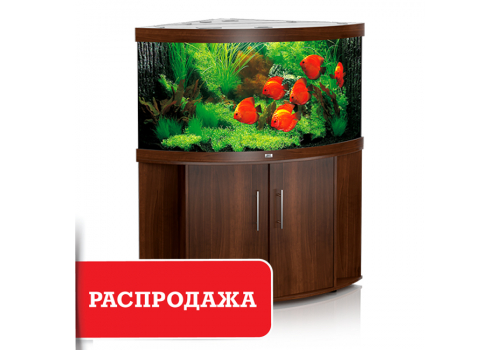 Аквариум Juwel Trigon 350, коричневый, комплект (аквариум+тумба)