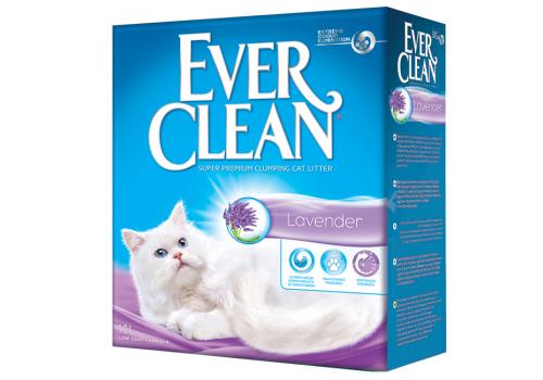 Наполнитель Ever Clean Lavender комкующийся с ароматизатором 10л