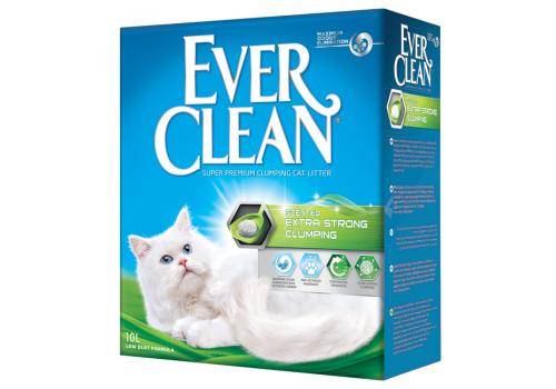 Наполнитель Ever Clean Extra Strong Clumping Scented с ароматизатором 10л