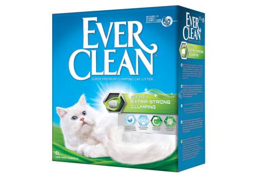 Наполнитель Ever Clean Extra Strong Clumping Scented с ароматизатором 6л