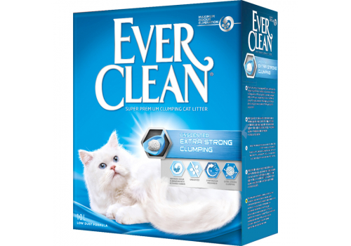Наполнитель Ever Clean Extra Strong Clumping Unscented без ароматизатора 10л