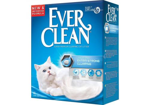 Наполнитель Ever Clean Extra Strong Clumping Unscented без ароматизатора 6л