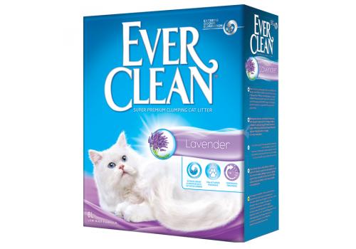 Наполнитель Ever Clean Lavender комкующийся с ароматизатором 6л
