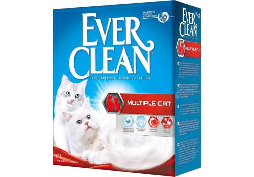 Наполнитель Ever Clean Multiple Cat комкующийся 10л