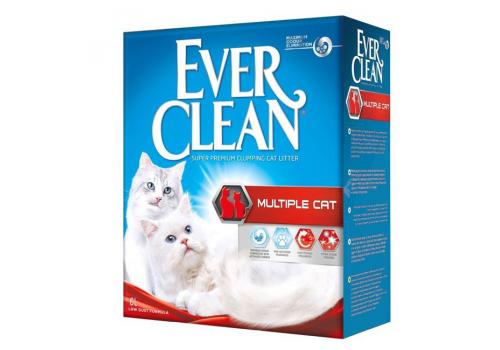 Наполнитель Ever Clean Multiple Cat комкующийся 6л