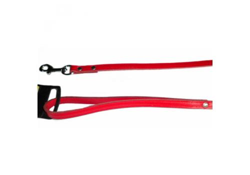 Поводок Karlie Kolibri,100смХ16мм, красный