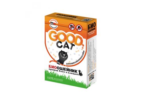Ошейник Good Cat против блох и клещей для кошек, 35см
