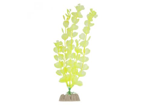 Растение пластиковое Glofish флуоресцентное желтое, 20,32см