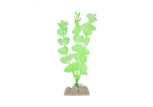 Растение пластиковое Glofish флуоресцентное зеленое, 15,24см