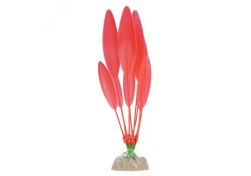 Растение пластиковое Glofish флуоресцентное оранжевое, 20,32см