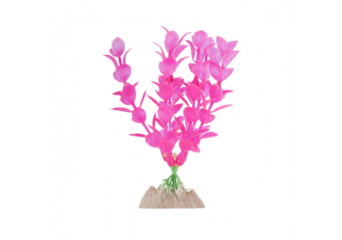 Растение пластиковое Glofish флуоресцентное розовое, 15,24см
