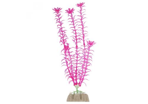 Растение пластиковое Glofish флуоресцентное розовое, 20,32см